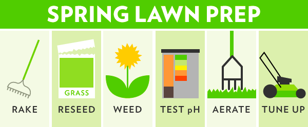 perfect lawn info graphic
