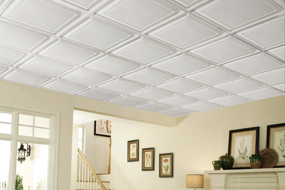 Basement Ceiling Ideas : Basement Ceiling Installation : HouseLogic