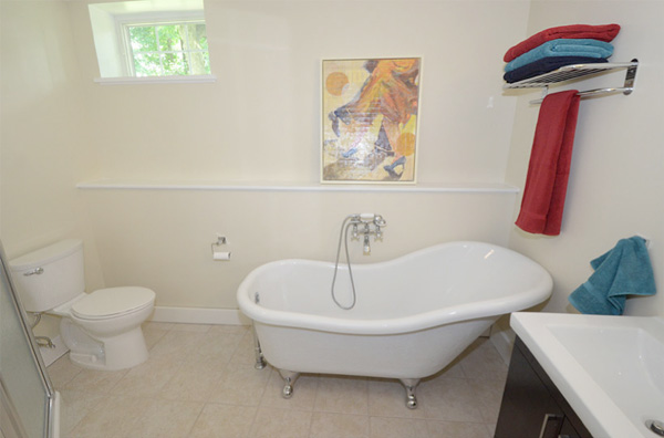 How to remodel a dark basement basement remodeling for Redoing bathroom walls
