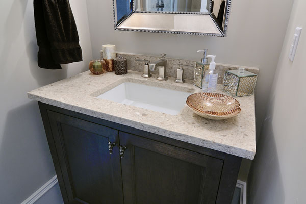 Countertop Options For Bathrooms : Bathroom Ideas Bathroom Remodel Ideas HouseLogic Bathrooms