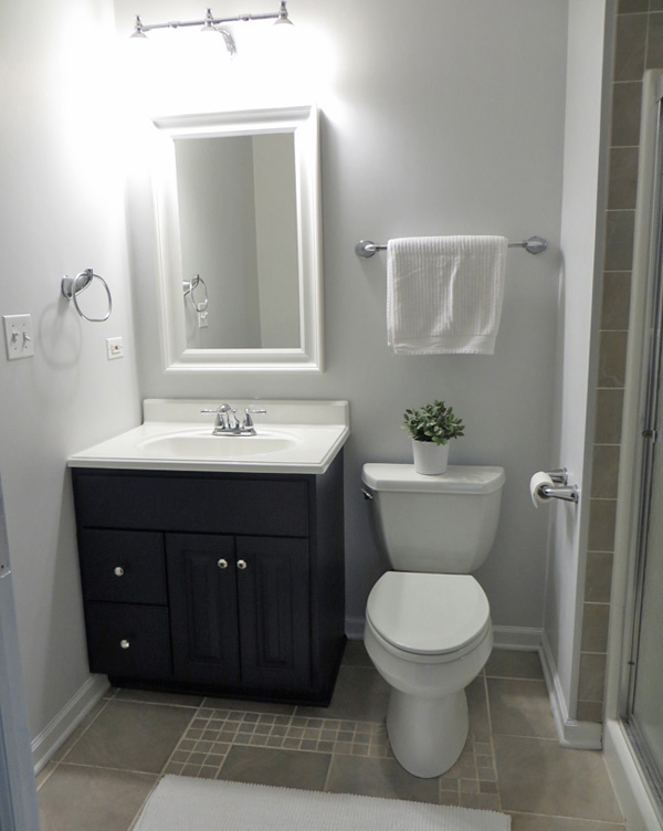 Bathroom Makeover Bathroom Makeovers On A Budget Houselogic