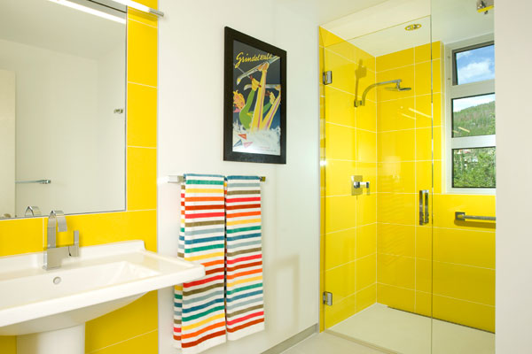 Ideal Yellow bathroom