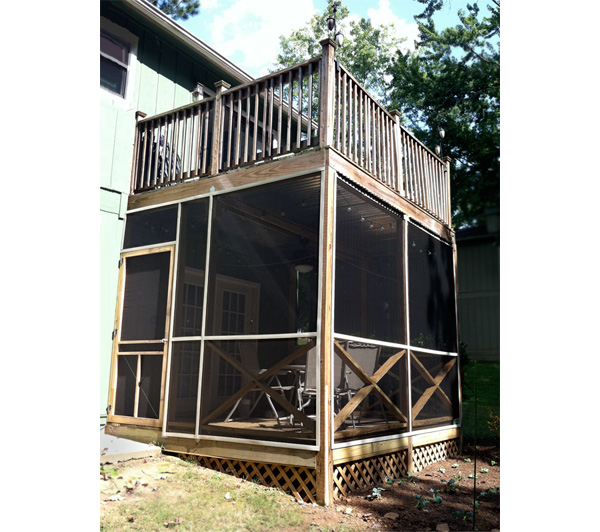 What i learned building a screened in porch solutioingenieria Images