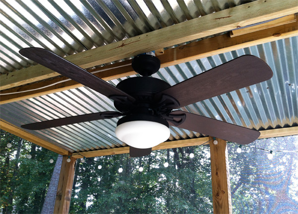 What i learned building a screened in porch for Screen porch roof options