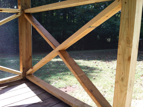 What i learned building a screened in porch railing x solutioingenieria Images