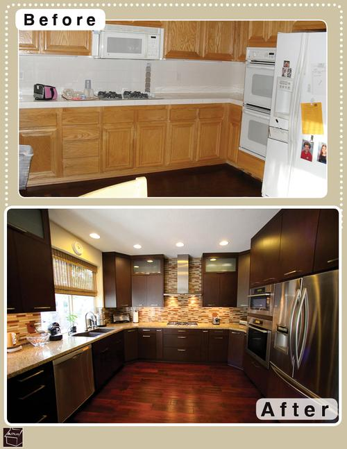 Refacing kitchen cabinets kitchen refacing houselogic for Reface kitchen cabinets ideas