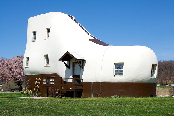 Charming House Shaped Like A Shoe | Creative Home Designs