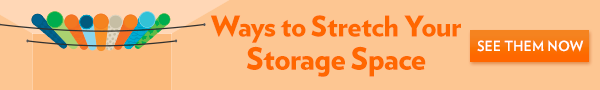 Creative storage ideas navigation banner