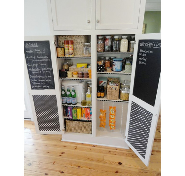 Design a pantry kitchen pantry makeover diy kitchen tips for Perfect kitchen organization