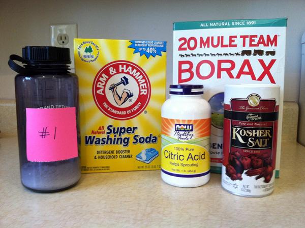 Recipe 1 ingredients
