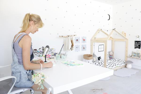 Playroom/gallery in Los Angeles