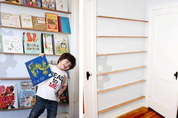 Kids' Room Bookcase Storage