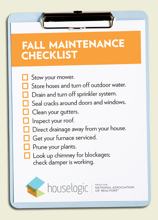Fall Home Maintenance Checklist To Get Your Home Ready For ...