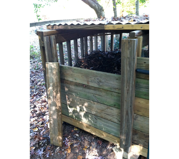 Compost bin front