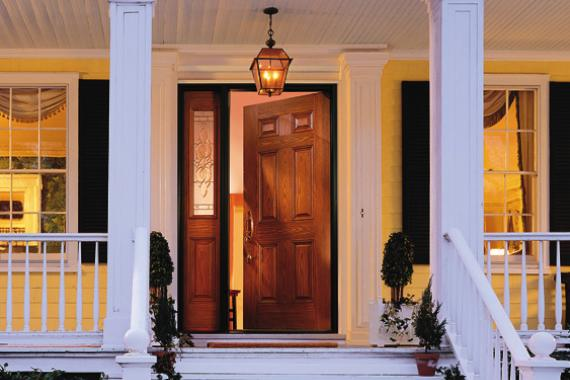 Exterior door installation options types of exterior doors for Double opening front doors