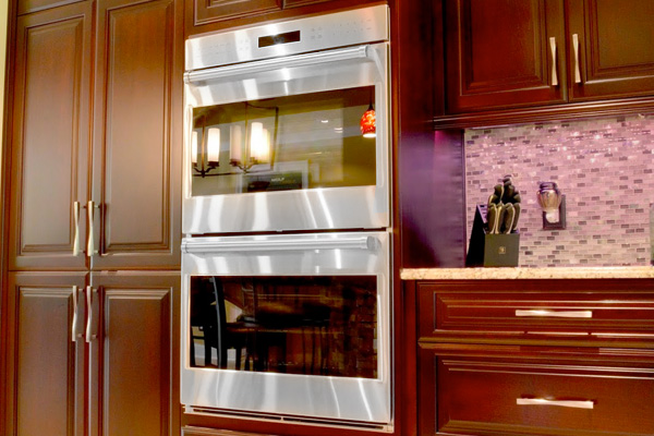 1960s Wall Oven Double Wall Ovens in a Newly