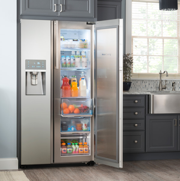 Multi-door refrigerator by Samsung