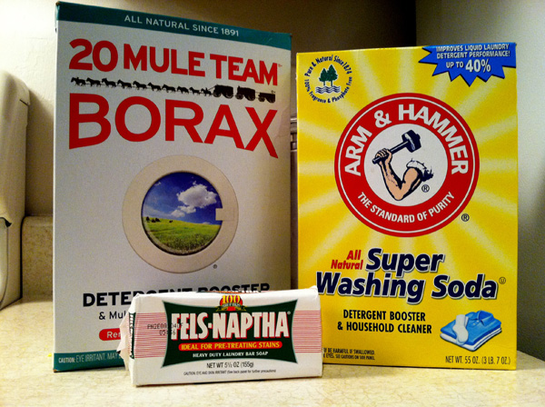Homemade laundry powder without borax