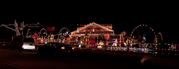 Smith Christmas lights in Delaware