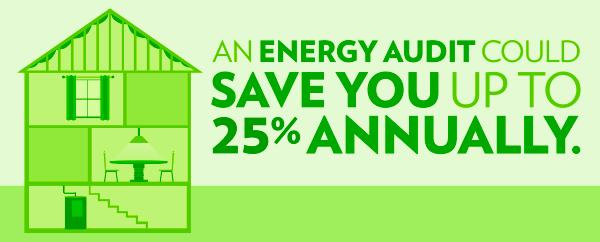 Energy audit infographic