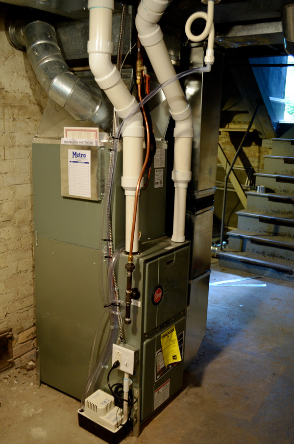 New furnace