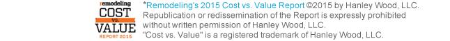 Cost vs. Value Report 2015 logo
