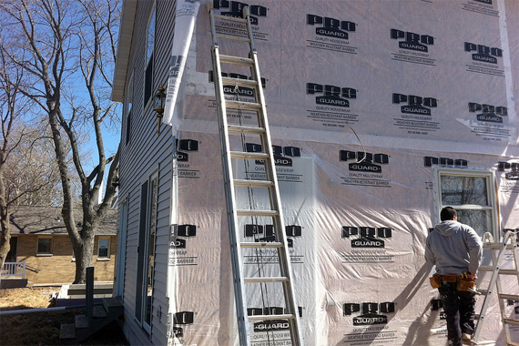 Exterior Wall Insulation Types : House insulation types