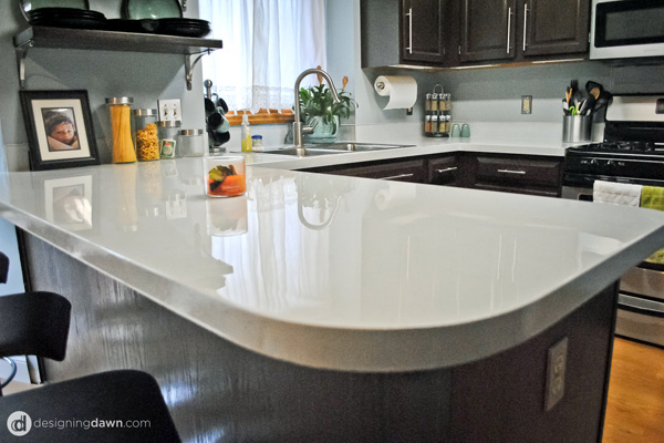 Give your countertops a beauty makeover with some simple diy love Kitchen countertop choices