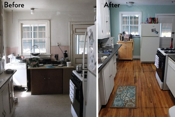Surprise kitchen remodel