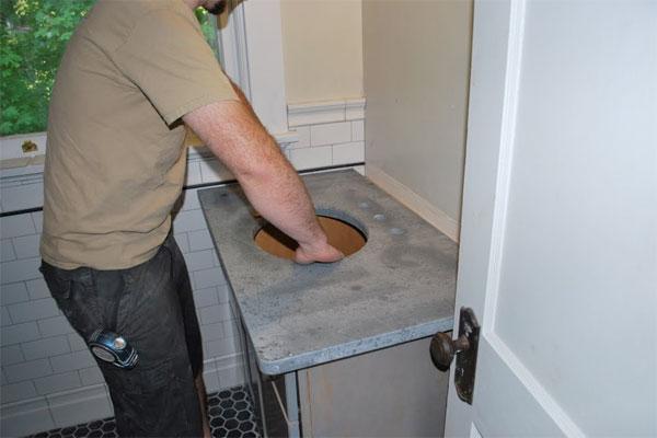 Install soapstone