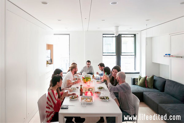 Micro dinner party
