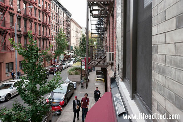 Micro apartment exterior