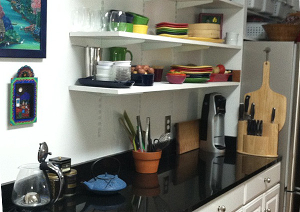 Plates and shelves