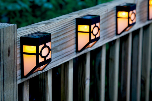 Outdoor solar lights landscape lighting houselogic plow and hearth aloadofball Images