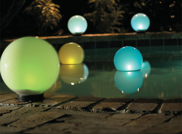 glowing light cost glowing globes $ 29 $ 49 half globe path lights $ 7
