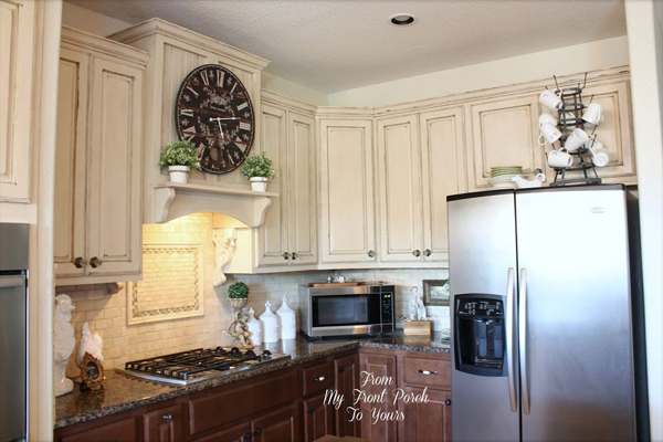 Stunning Kitchen cabinets painted with chalk paint