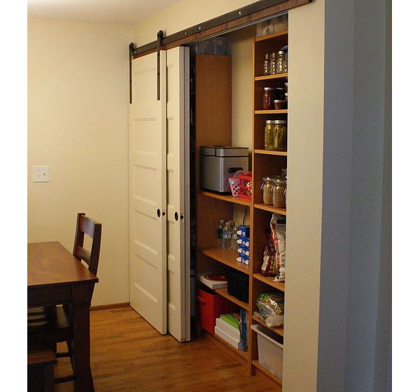 Kitchen Pantry Door Options: Pantry Organization Ideas