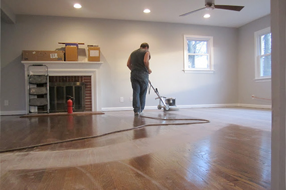 You'll save money by refinishing your own hardwood floors, but the risk to  your floors may not be worth it - Should You Refinish Hardwood Floors Yourself? - HAR.com