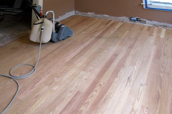 Should you refinish hardwood floors yourself for Sanding hardwood floors