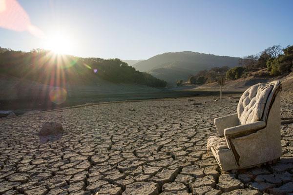 Drought stricken area