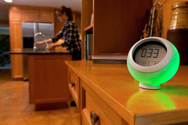 Energy monitoring orb