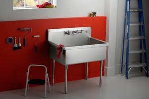 Small Garage Sink : Adding Plumbing To Studio Workshop Plumbing Additions HouseLogic