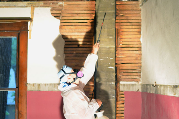 Abating asbestos in the Curbly home