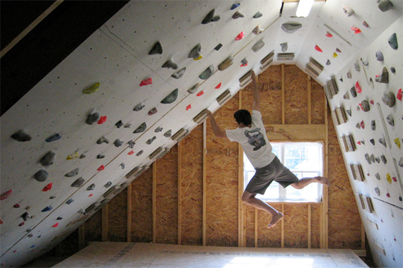 Attic Climbing Wall Attic Conversions