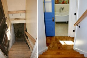 After photo of basement renovation