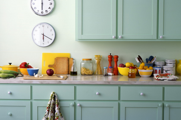 Kitchens the heart of the home choosing the best paint for Choosing kitchen colors
