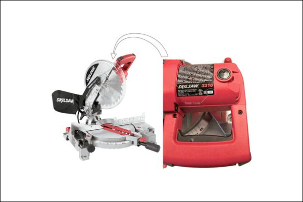 Bosch miter saw recalled