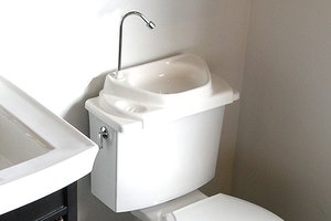 The SinkPositive toilet-tank-sink combination