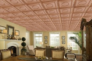 Metal ceiling tiles | Ceiling Ideas
