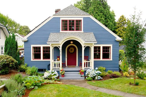 Color Contrast Paintings Contrast Color Exterior Paint